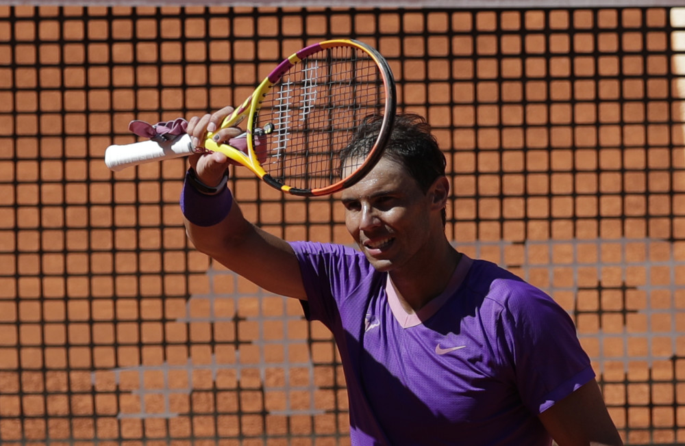 Nadal reaches Madrid Open quarters, Barty into final