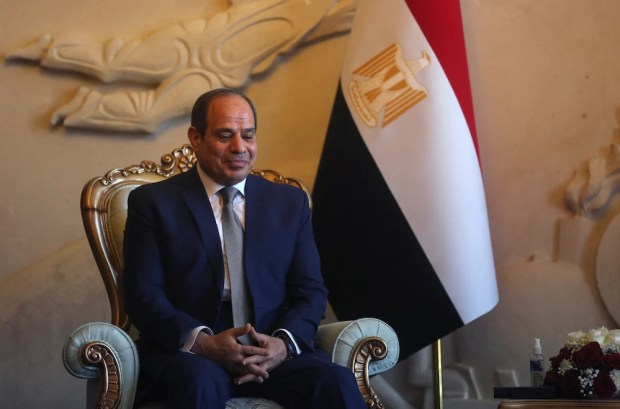Egyptian President Abdel Fattah El-Sisi extended the state of emergency in North Sinai. (File/AFP)