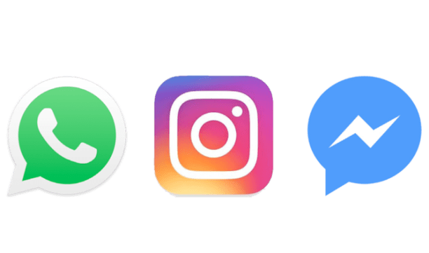 Image result for Messenger Instagram Whatsapp
