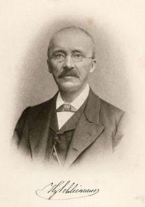 هنريخ شليمان عالم الأثار الألماني