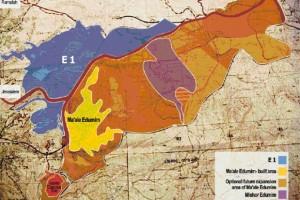 mappa E-1 attivisti palestinesi