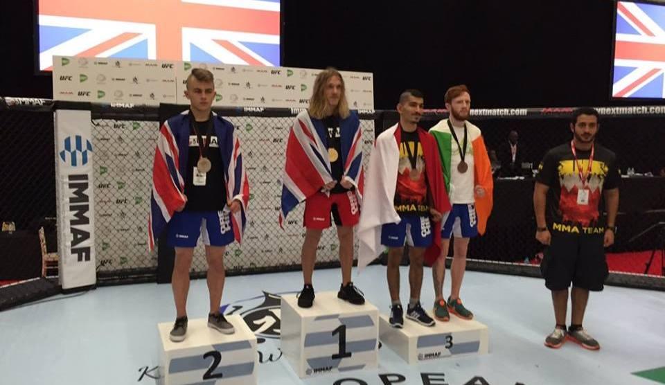 KHK MMA's Hussein Maki Makes First Run At IMMAF Worlds 2016
