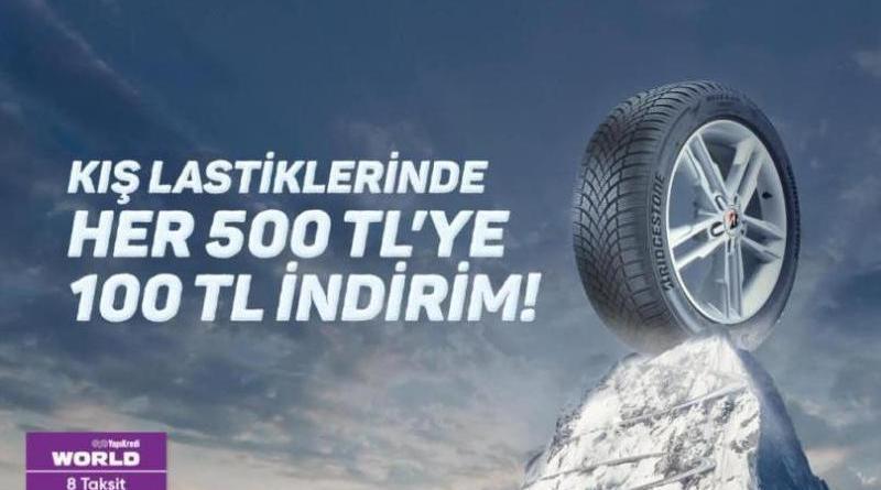 Bridgestone Kış Lastiği Kampanyası