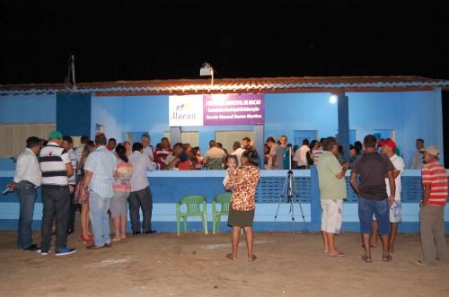 Noite de festa para a comunidade