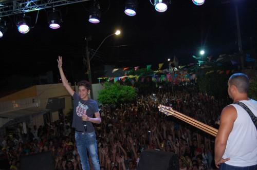 Show de Louro Santos e Victor Santos foi recorde de público