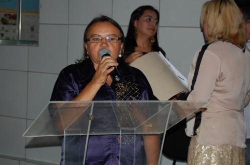 Diretora Miranda agradece confiança e pede união e o apoio para o bom funcionamento do complexo