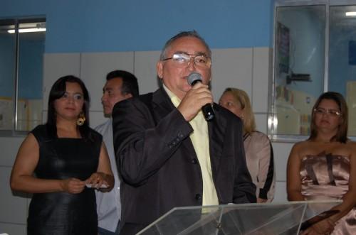 O presidente da Câmara Municipal,  Oscar Paulino parabeniza as ações do governo na área da educação