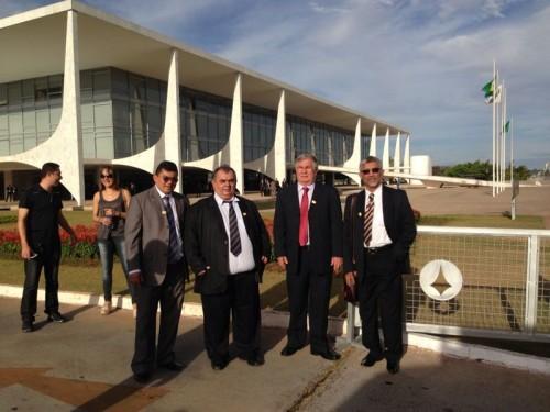 Prefeito Kerginaldo, Ivan Padilha, Abelardo Filho,e Luizinho Cavalcante