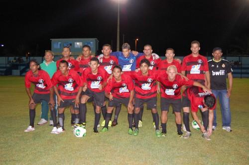Equipe do Flamengo do Valadão, Abertura do Campeonato da Cidade