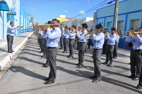 Filarmônica Monsenhor Honório abrilhanta as festividades