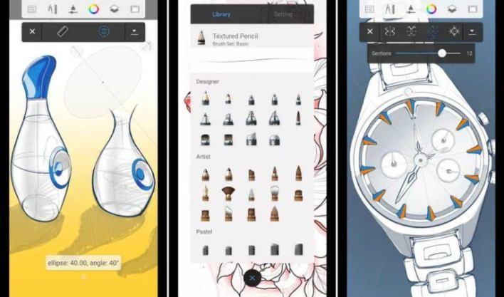 تطبيقات الرسم: Autodesk SketchBook