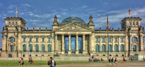 منح دراسية في المانيا - منح حكومية المانية - مبنى جامعي
