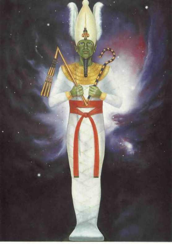 أوزوريس إله الحساب في العالم السفلي