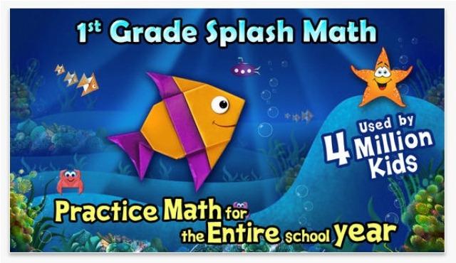 splash math أفضل 15 تطبيق تعليمي للأطفال