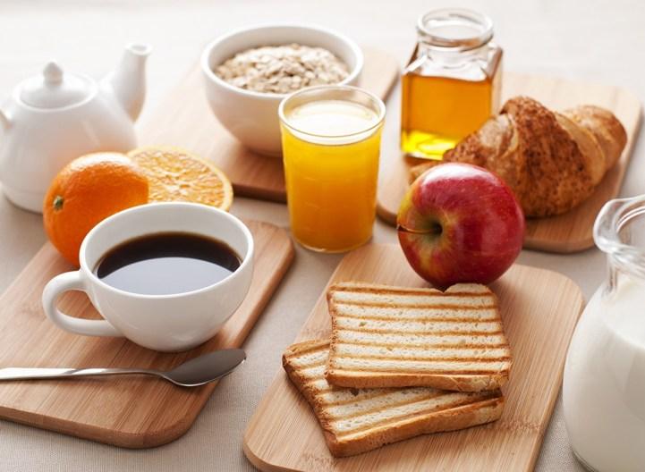 وجبة الافطار