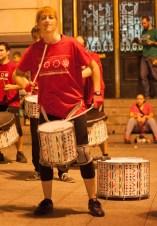 Escuela de Batucada. Fiestas del Pilar 2017, por Ángel Burbano
