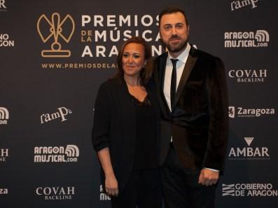 Mayte Pérez y David Chapín . Foto, Ángel Burbano