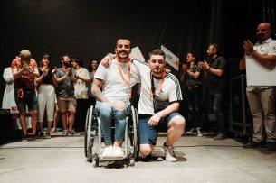Eddy Charlez y 3scolan. Ganadores del AmbarZMusic 2018. Foto, Ana Escario / Aragón Musical