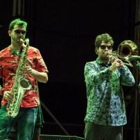 The Magnetophones. Foto, Luis Lorente
