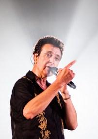Manolo García el 13 de octubre de 2018 en el Pabellón Príncipe Felipe. Fotos, Ángel Burbano