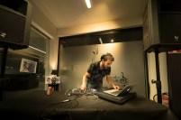 DJ Gancho Sonidero. CC Delicias, 6/4/19. Foto, Luis Lorente
