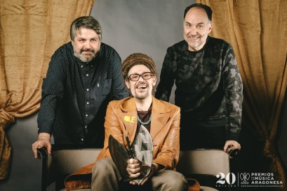Juanjo Javierre, Mr. Pendejo y Luis Lles. Foto, Jal Lux