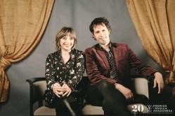 Marisol Aznar y David Angulo. Foto, Jal Lux