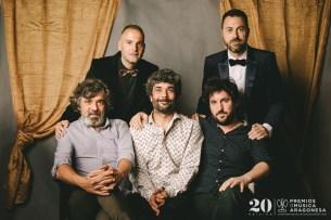 Sergio Falces, David Chapín, Tachenko y Edu Baos. Foto, Jal Lux