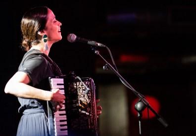 Julieta Venegas el 12 de mayo de 2019 en la Sala López. Foto, Ángel Burbano