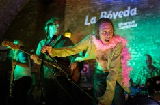Hickoids el 12 de agosto de 2019 en la Bóveda del Albergue. Foto, Ángel Burbano