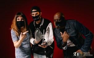 Rap Academia. 21º Premios de la Música Aragonesa. Foto, Jal Lux