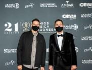Andrés Campo y David Chapín / 21 Premios de la Música Aragonesa. Foto, Ángel Burbano