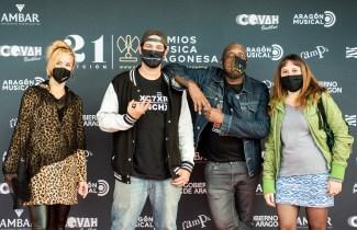 Rap Academia / 21 Premios de la Música Aragonesa. Foto, Ángel Burbano