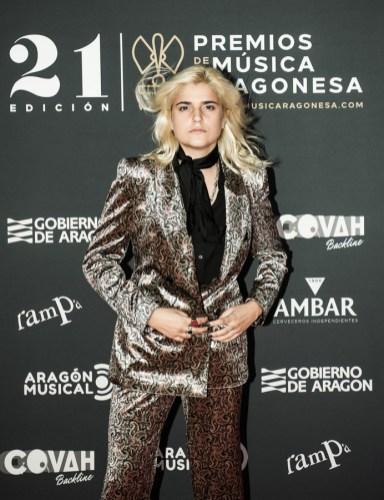 Erin Memento / 21 Premios de la Música Aragonesa. Foto, Ángel Burbano