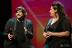 Luis Cebrián e Irene Alquezar / 21 Premios de la Música Aragonesa. Foto, Ángel Burbano