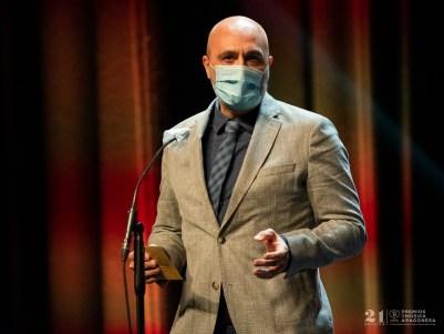 Victor Lucea / DGA / 21 Premios de la Música Aragonesa. Foto, Ángel Burbano