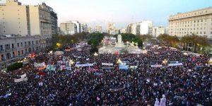 Demo Anti Pemerkosaan Argentina