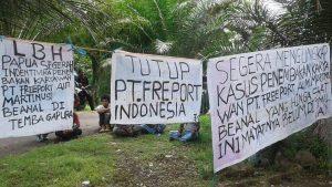 "Mimbar Bebas ""Tutup Freeport"" di Universitas Papua."