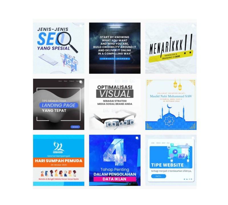 arahmata digital agency jakarta selatan 2021 desain branding media sosial