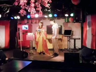 横浜MATSURI酒場でマジック