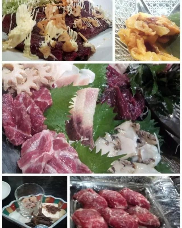 神田くじらのお宿・一乃谷さんの鯨料理