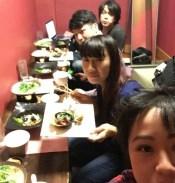 茨城県阿見町・高級料亭「魚清」様での忘年会余興でマジック&モノマネショー