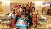 東京ドームホテルにてロータリークラブ様パーティで余興マジック