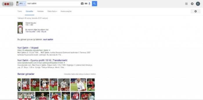 Google Tersinden Görsel Arama Örnek