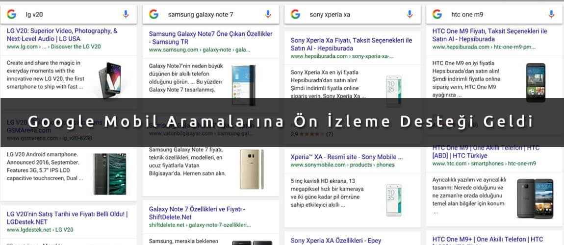 google mobil izleme
