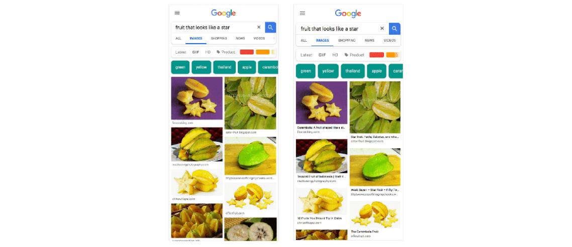 Google Görsel Arama Sonuçlarına Başlık Etiketleri Ekliyor