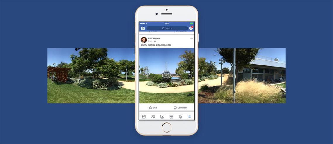 Facebook Messenger Artık HD Video ve 360 Derece Fotoğrafları Destekliyor