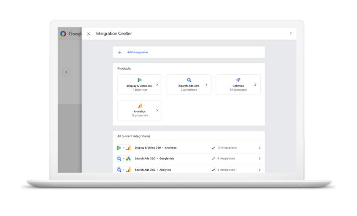 Google Marketing Platform Integration Center
