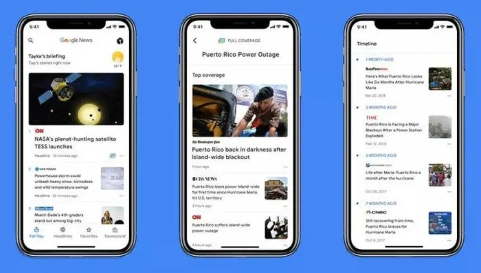 Google Haberler Yeni Tasarımı