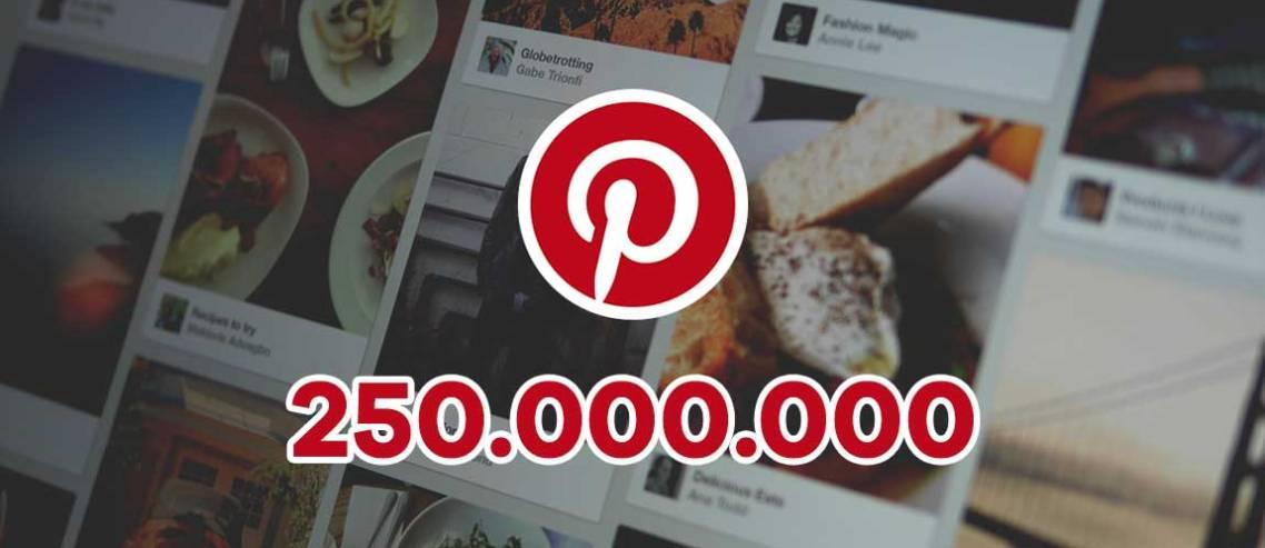 Görsel Arama Motoru Pinterest, 250 Milyon Aktif Kullanıcıya Ulaştı